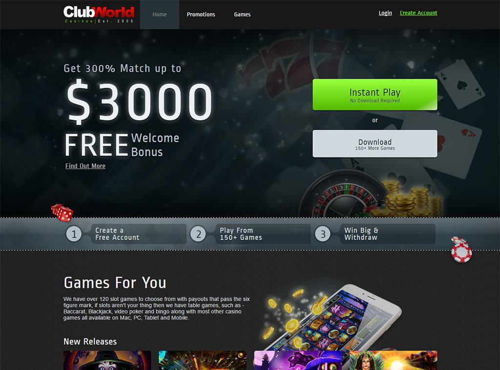 club world casino promotion code