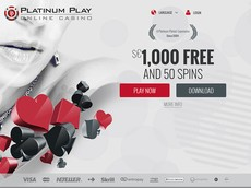 Platinum Play Casino Screenshot