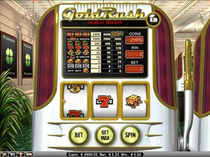 Gold Rush Slot (Net Entertainment)