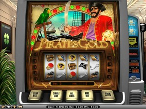 Pirates Gold Slot (Net Entertainment)