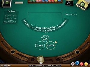 Texas Hold'em (Net Entertainment)
