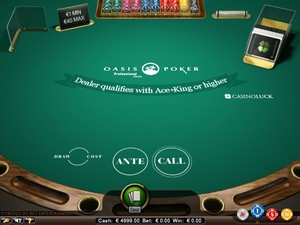Oasis Poker lowroller $1-$40 (Net Entertainment)