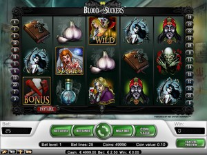 Blood Suckers Slot (Net Entertainment)