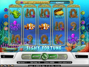 Fishy Fortune Slot (Net Entertainment)