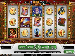 Fortune Teller Slot (Net Entertainment)