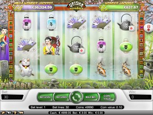 Geisha Wonders Slot (Net Entertainment)