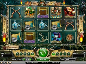 Ghost Pirates Slot (Net Entertainment)