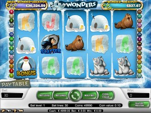 Icy Wonders Slot (Net Entertainment)