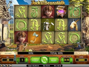 Jack and the Beanstalk (Net Entertainment)