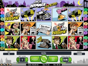 Jack Hammer (Net Entertainment)