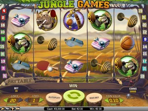 Jungle Games (Net Entertainment)