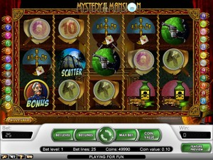 Mystery at the Mansion slot (Net Entertainment)