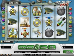 Pacific Attack Slot (Net Entertainment)