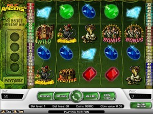 Relic Raiders Slot (Net Entertainment)