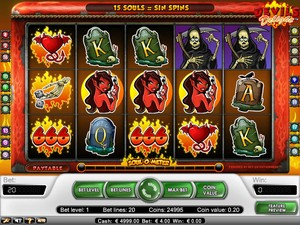 Devil's Delight slot (Net Entertainment)