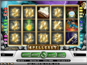 Spell Cast Slot (Net Entertainment)