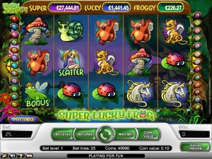 Super Lucky Frog Slot (Net Entertainment)