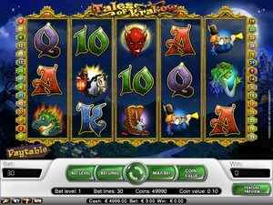 Tales of Krakow Slot (Net Entertainment)