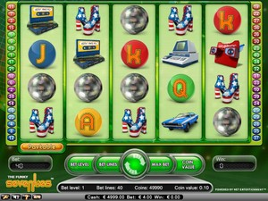 The Funky 70's Slot (Net Entertainment)