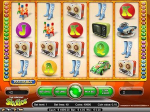 The Groovy 60's Slot (Net Entertainment)
