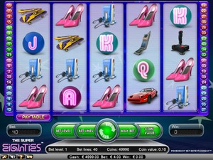The Super 80's Slot (Net Entertainment)