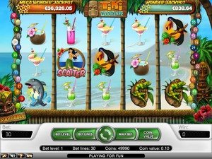 Tiki Wonders Slot (Net Entertainment)