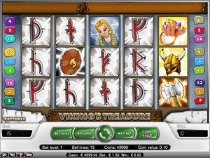 Viking Treasure Slot (Net Entertainment)