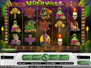 Voodoo Vibes Slot (Net Entertainment)
