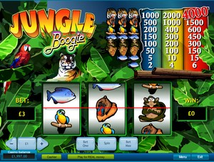 Jungle Boogie Slot (Playtech)
