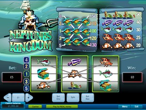 Neptune's Kingdom Slot (Playtech)