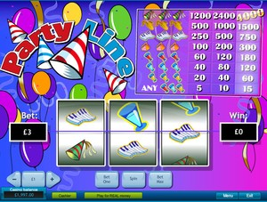 Party Line Slot (Playtech)