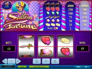 Sultan's Fortune Slot (Playtech)