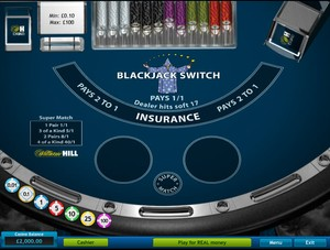 Blackjack Switch (Playtech)