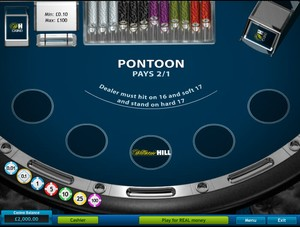 Pontoon (3 Hand) (Playtech)