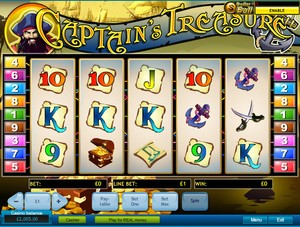 Captain's Treasure (Playtech)