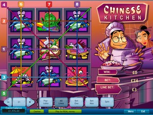 Chinese Kitchen Slot (Playtech)