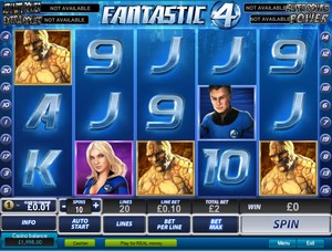 Fantastic Four (Playtech)