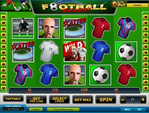 Football Rules Slot (Playtech)