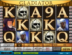 Gladiator Slot (Playtech)