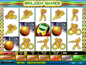 Golden Games Slot (Playtech)