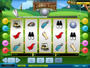 Golden Tour Slot (Playtech)