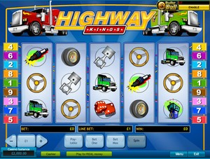 Highway Kings Slot (Playtech)