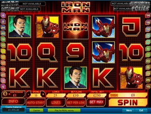 Iron Man Slot (Playtech)