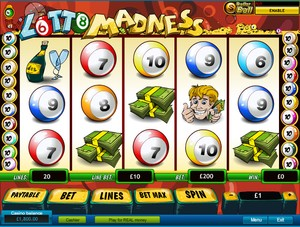 Lotto Madness Slot (Playtech)