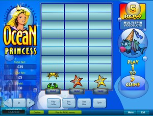 Ocean Princess Multi-Spin Slot (Playtech)