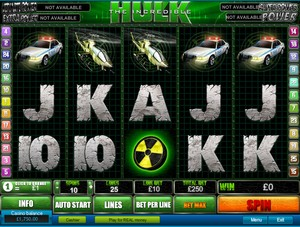 The Incredible Hulk Slot (Playtech)