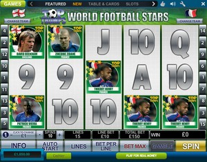 Top Trumps Football Stars (Playtech)