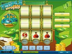 Triple Profits Multi-Spin Slot (Playtech)