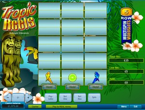 Tropic Reels Multi-Spin Slot (Playtech)